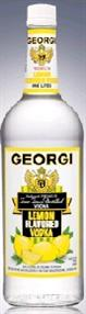 Georgi Vodka Lemon 1.00l - Case of 12